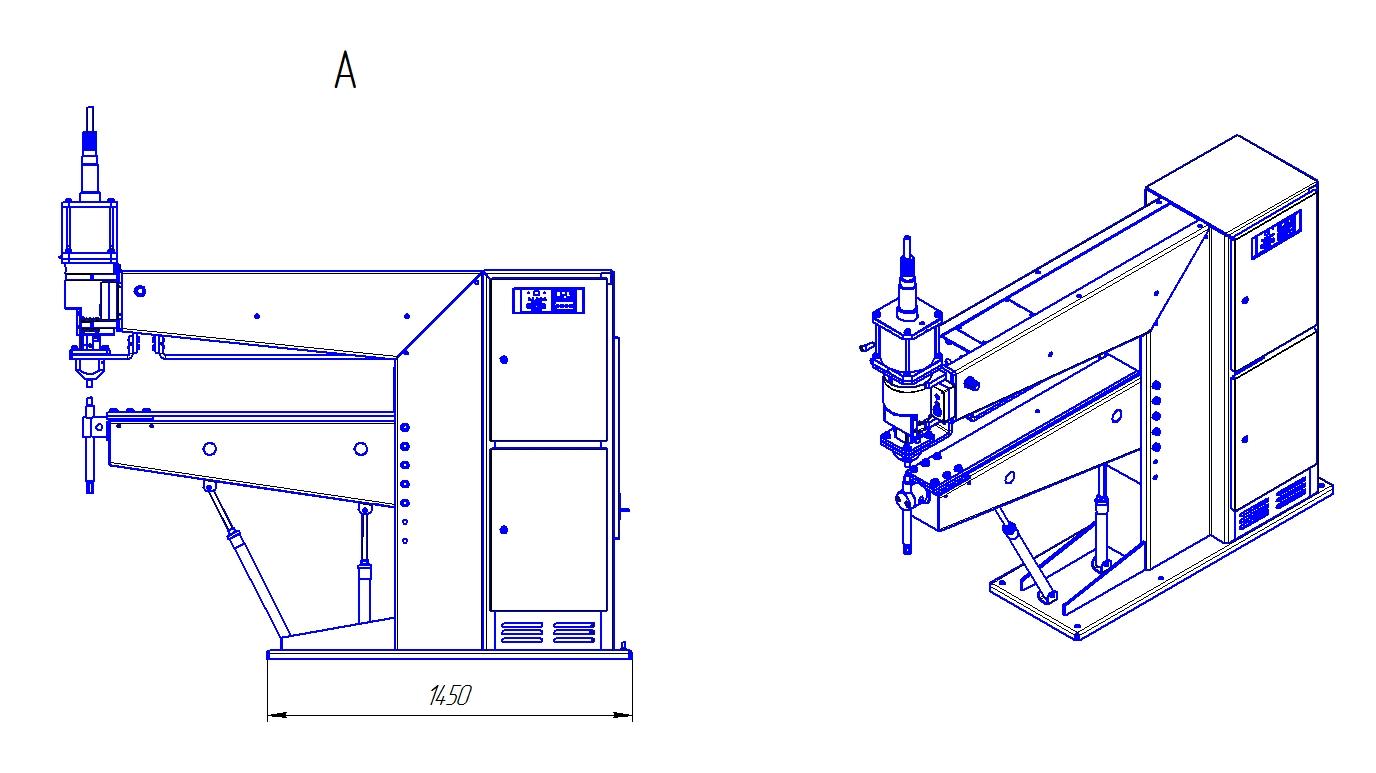 схема и устройство контактной точечной сварки